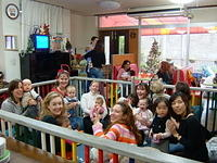 Christmas party at Little Ones Cafe